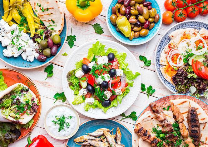 Средиземноморская диета для похудения — меню на неделю, список продуктов и блюда